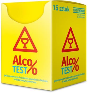 AlcoTEST - 15 testów