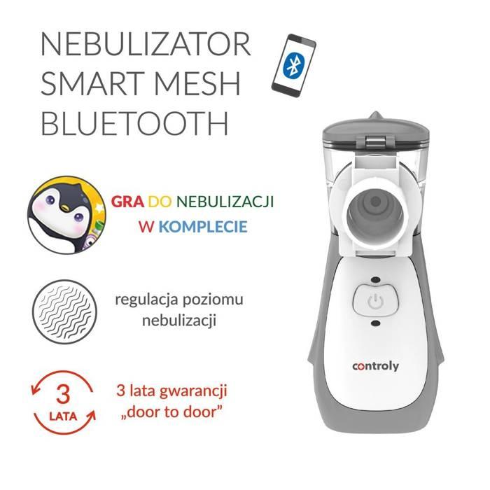 Nebulizator Smart Mesh Bluetooth